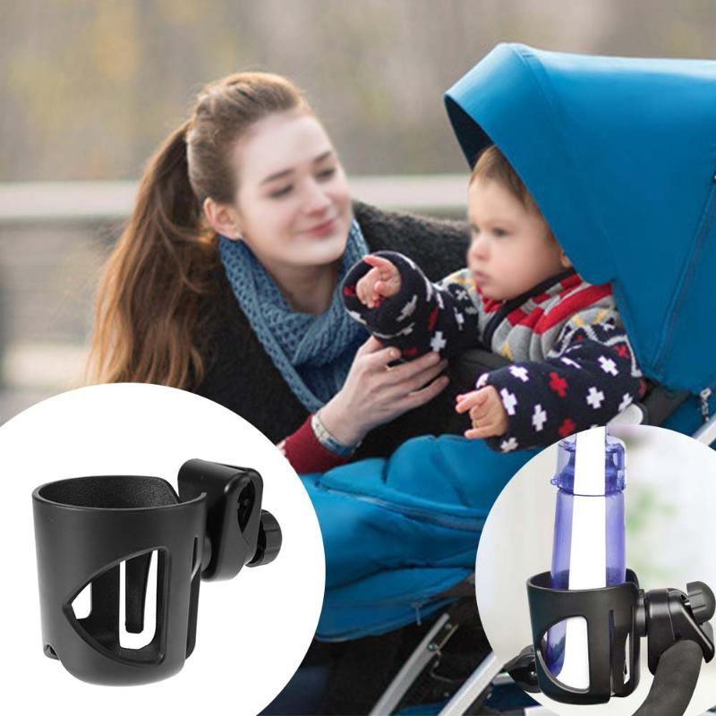 Baby Stroller Cup Holder Universal Rotatable Holder Baby Stroller Parent Console Cup Organizer Children's Bicycle Bottle Rack bottle holder universal 360 degree rotation antislip cup drink holder for stroller bike wheelchair 88 s7jn