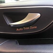 ABS Mate Interior Manija de La Puerta Delantera W447 Recortar 2 UNIDS Para Mercedes Vito 2014-2017