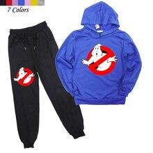新到着 2019 子供 Ghostbuster 服 2 本子供服カジュアルなズボンとスウェット男の子パンツとパーカー