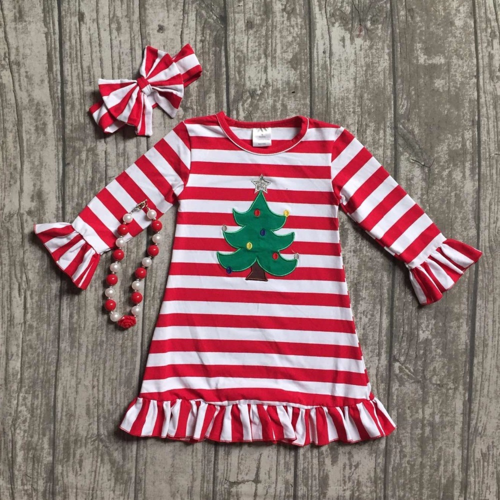 baby girls Christmas tree dress girls Christmas red stripe ruffle dress girls Christmas party dress long sleeve with accessories baby girls halloween pumpkin dress girls halloween stripe ruffle dress halloween party dress long sleeve with accessories