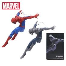 18 सेमी मार्वल खिलौने एवेंजर्स सुपरहीरो कमाल स्पाइडरमैन पीवीसी एक्शन चित्रा निर्माता स्पाइडर मैन संग्रहणीय मॉडल गुड़िया खिलौना