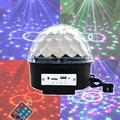 Динамик Bluetooth Led Свет Этапа Sound Control Этап Лампы 6 Цветов Свадьба Лампа-Вспышка Магический Хрустальный Шар U диск вещания