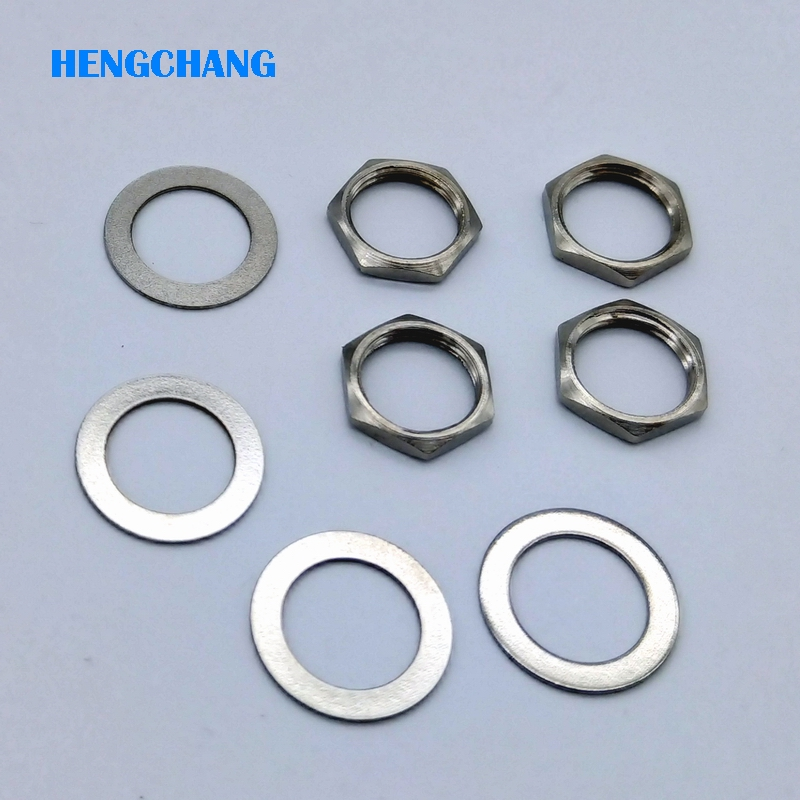 20pcs/lot nut and gasket for British system F connector CATV F connector nut gasket 20pcs lot ls30 to252