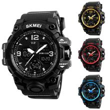 Fashion Top Brand Luxury Men Boy Multifunction Quartz Analog Digital Outdoor Alarm Sport Wrist Watch цена