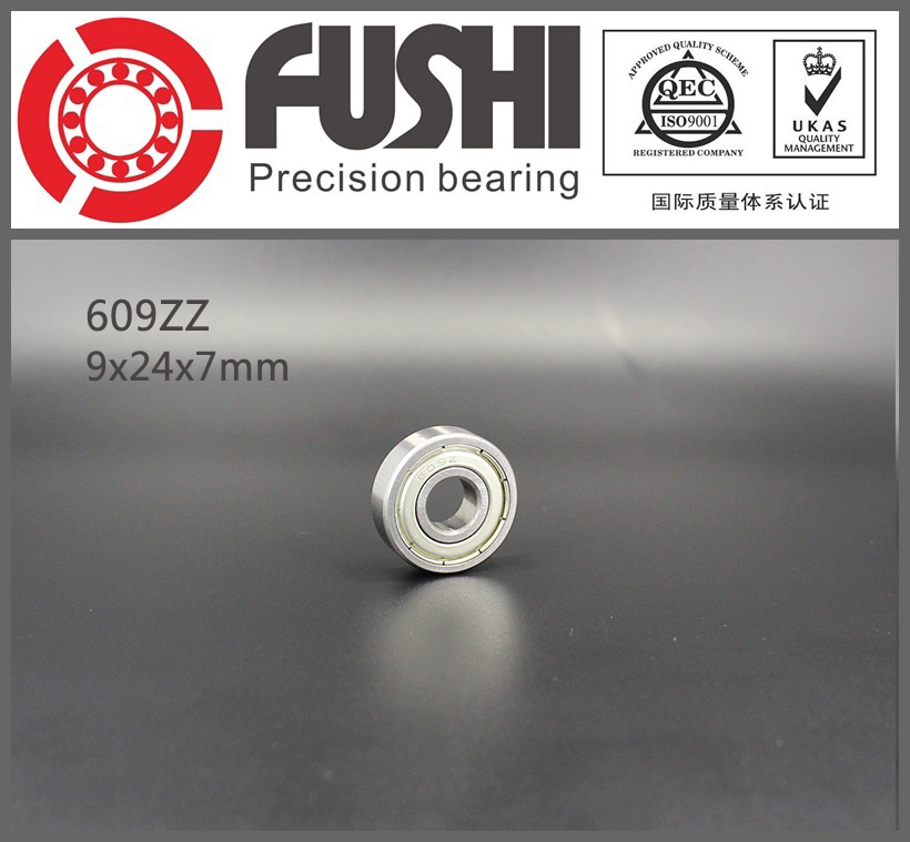 609ZZ Bearing 9x24x7 mm ( 10 PCS ) ABEC-5 Miniature 609 ZZ Ball Bearings 609 609 2Z Bearing 1pcs 71901 71901cd p4 7901 12x24x6 mochu thin walled miniature angular contact bearings speed spindle bearings cnc abec 7