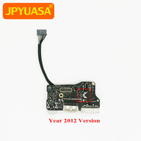 3pcs/lot 820 3214 A DC Power Jack USB I/O Audio Board For MacBook Air 13.3 A1466 2012 Year