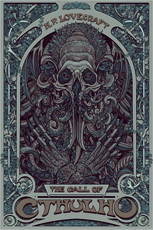 Hot-Selling-One-Piece-H-P-Lovecraft-Cthulhu-Art-Nouveau-Silk-Fabric-Canvas-Poster-Print-Wall.jpg_640x640