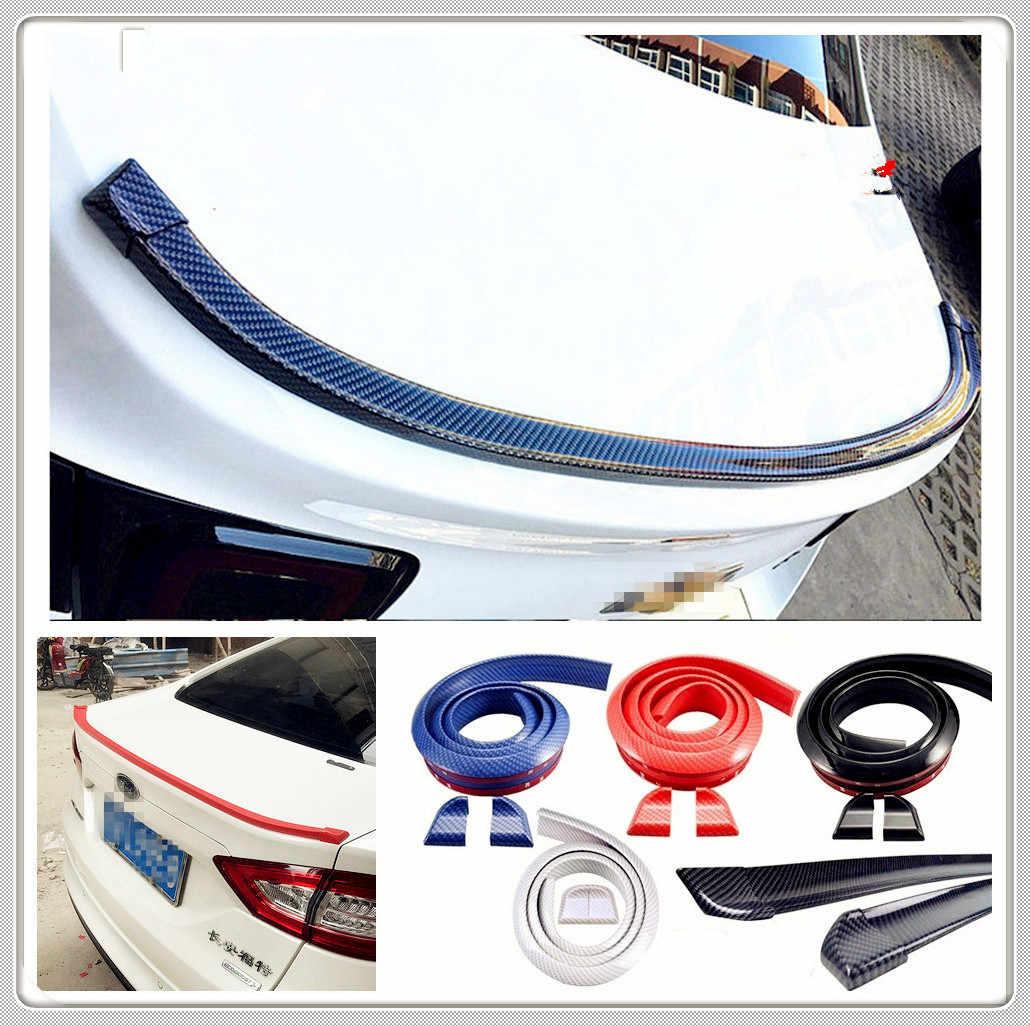 רכב גומי זנב אחורי אגף ספוילר עבור BMW E34 F10 F20 E92 E38 E91 E53 E70 X5 M M3 E46 e39 E38 E90 M140i 530i 128i