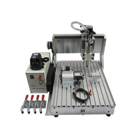 Máquina de Gravura em Metal Metal com Interruptor de Limite Yoocnc 1500 w 4 Eixo Router Madeira Máquinas Cnc 3040 com Interruptor de Limite