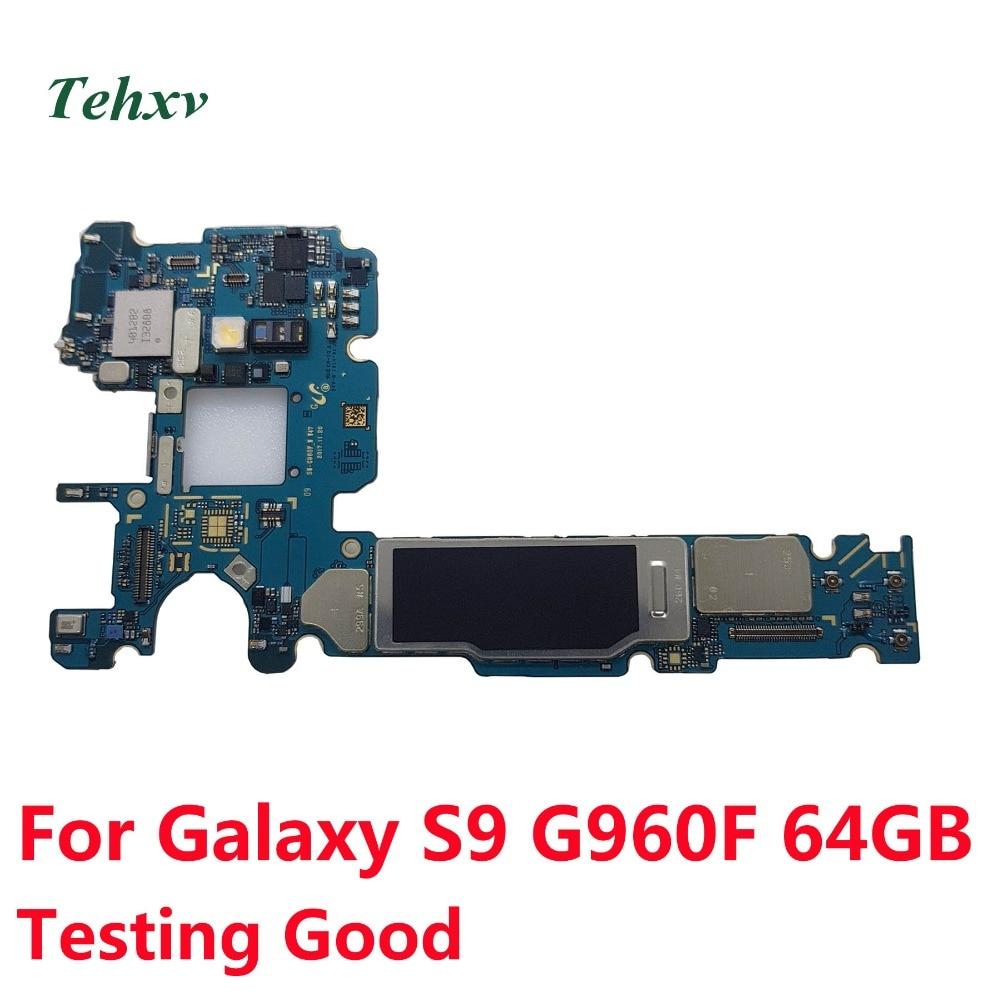 Tehxv Knox Samsung for Galaxy S9 G960f/Motherboard/Mainboard/64gb Unlocked Original