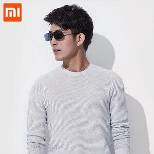 Image 4 - Xiaomi TS klip okulary przeciwsłoneczne całkowite dopuszczalne połowy (TAC) obiektyw 10g ze stopu cynku 110 stopni losowo wzrost oczu Protector Mijia na zewnątrz podróży Xiaomi okulary przeciwsłoneczne