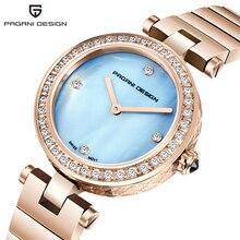 цена Reloj Mujer PAGANI DESIGN Luxury Brand Ladies Watch Waterproof Fashion Sapphire Crystal Bracelet Quartz Wristwatch Clock Women онлайн в 2017 году