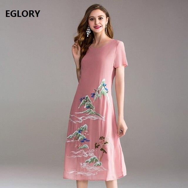European Hot Sale Women Summer Dress Plus Size M 4xl Ladies Vintage ...