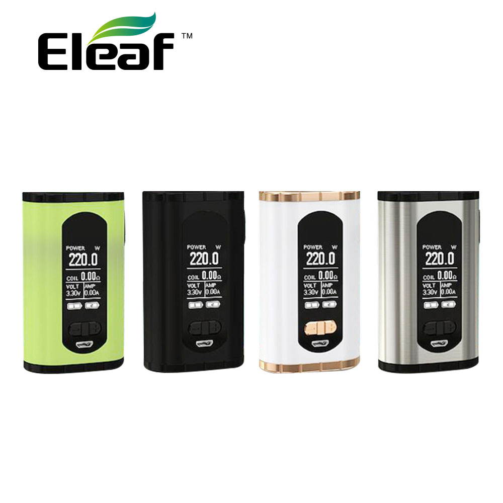 220W Eleaf Invoke TC Box MOD Powered By Dual 18650 Battery Fit Eleaf ELLO T Atomizer No Battery Box Mod Electronic Cigarette Mod