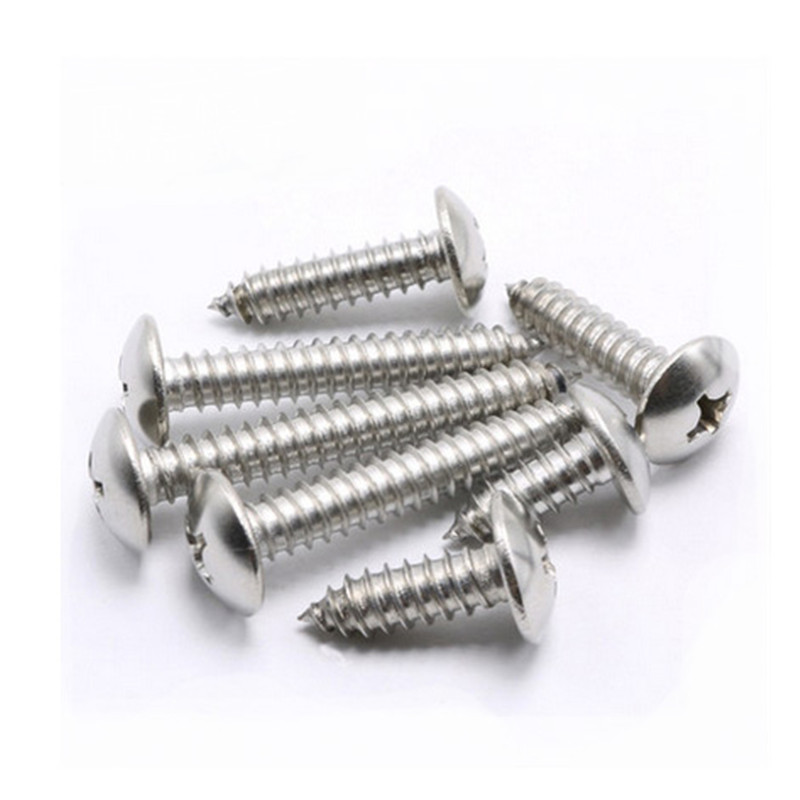 1 Pack M3 Stainless Steel Truss Self Tapping Screws Big