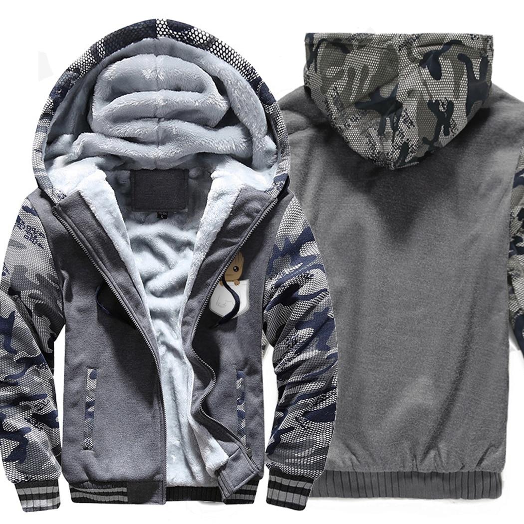 Men 39 s Pokemon Gengar Hoodie Sweatshirt Winter Warm Zipper Hoodies Sweatshirts Hooded Camouflage Sleeve Coat Jacket Hoody in Hoodies amp Sweatshirts from Men 39 s Clothing