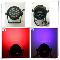 4 Lot Led Stage Light Par Led 18x18w Rgbwa Uv Waterproof Par Can Ip 65