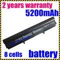 Precio especial nueva 4400 mah 8 celdas de batería portátil para asus u36 u36j u36jc u36s u36sd 4inr18/65 4inr18/65-2 a41-u36 a42-u36