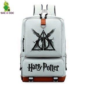 Mochila Harri Potter School Ba