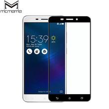 MCMEME Tempered Glass For Asus Zenfone 3 Max ZC553KL Screen Protector 3D Full Cover 9H Electroplated Film For Asus Zenfone 3 Max red line для asus zenfone 3 max zc553kl