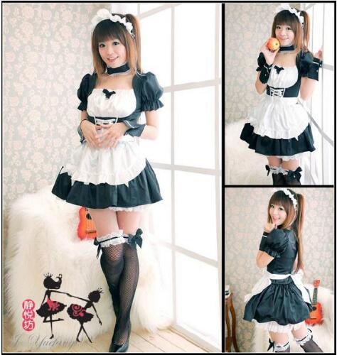 Евангелион EVA Evangelion Rei Ayanami Лолита Косплэй костюм горничной пикантные вечерние костюмы платье