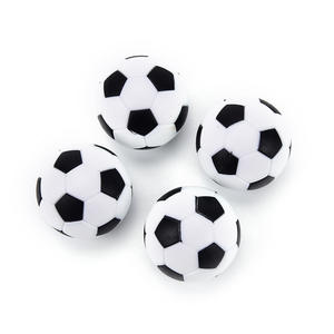 Table-Ball Foosball-Table Soccer Baby Resin White Black 4pcs Gifts And Spotrs High-Quality