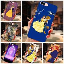 Soft Phone Capa For Huawei Honor 5A 6A 6C 7A 7C 7X 8A 8C 8X 9 10 P8 P9 P10 P20 P30 Mini Lite Plus Hot Beauty And The Beast(China)