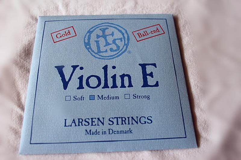 Cordes Larsen pour violon et cordes violon et cordes or et cordes