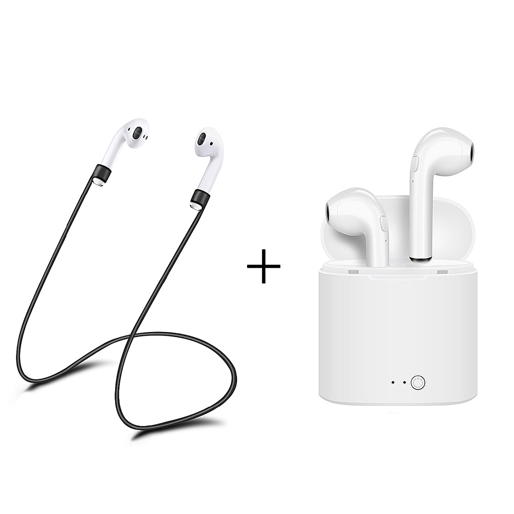 Old town for apple i7s TWS Twins Wireles Earphone Mini Bluetooth V4.2 Earbuds Stereo Headset For Iphone 5 6 7 8 plus X Galaxy S8