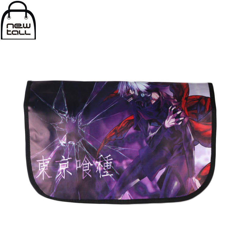 Anime Tokyo Ghoul Kaneki Ken Pattern School Casual Shoulder Messager Bag Cosplay Pack
