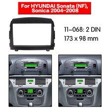 Двухканальное Радио Стерео крепление рамы Установка панель управления Комплект для HYUNDAI Sonata(НФ), Sonica 11-068