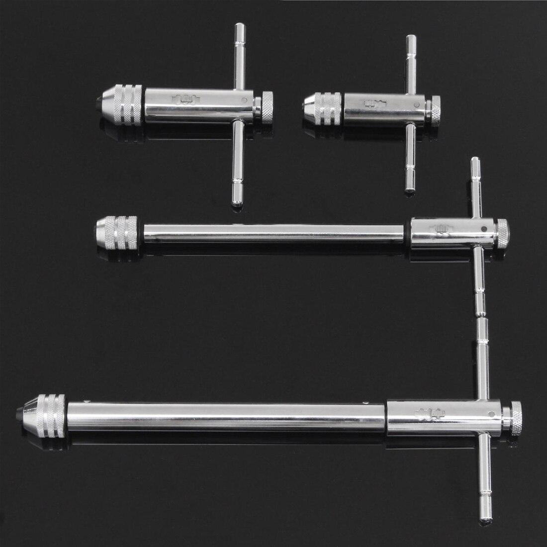 Регулируемый M3-M8 M5-M12 Т-образной ручкой трещотка краны машинный гаечный ключ винт Резьба Метрическая вилка кран машинные инструменты