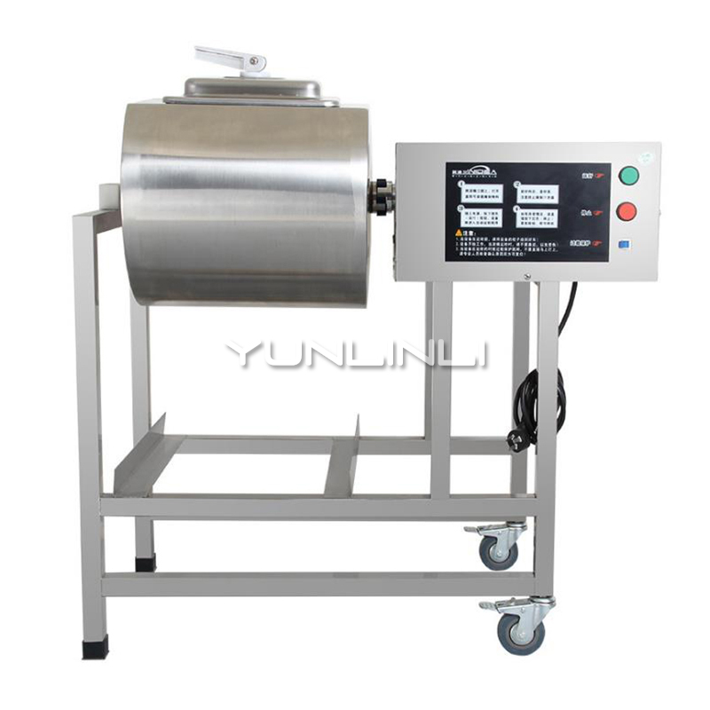 YUNLINLI 220V Commercial Stainless Steel Meat Processor Small Bacon Machine IYZJ-25MYUNLINLI 220V Commercial Stainless Steel Meat Processor Small Bacon Machine IYZJ-25M