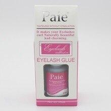 Caixa rosa 10 ML CORÉIA Paie Adesivo Cílios Maquiagem Cola Insípido sem Estimulação para Cílios Extensão Cola Cartilha