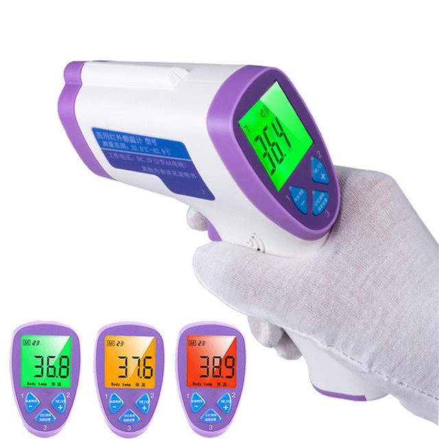 NUEVO Multi-Función Digital de Bebé Termómetro Termometro Pistola de Frente Infrarrojo Sin contacto del Termómetro Del Cuerpo Adulto herramienta de Diagnóstico