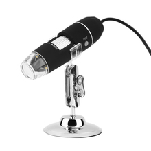 Wholesale prices 1000X 8 LED Digital Microscope electronic USB microscope Camera Endoscope Microscopio Magnifier Stereo + Metal stand + CD Z P4PM
