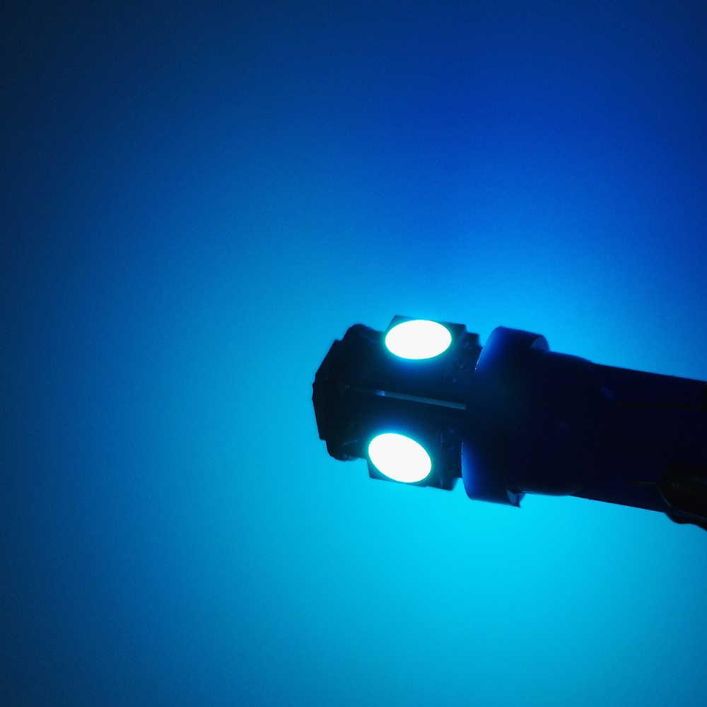 ECAHAYAKU 1 Uds T10 LED W5W 5050 5SMD 192 168 blanco 194 luces LED Auto lámpara wedge luz bombillas Super brillante 12V lámpara de placa de matrícula
