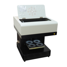 купить Factory Price 4 cup Automatic Cake Coffee Printer Chocolate Selfie Coffee Printing machine for Cappuccino Biscuits Cookie Sweeti онлайн