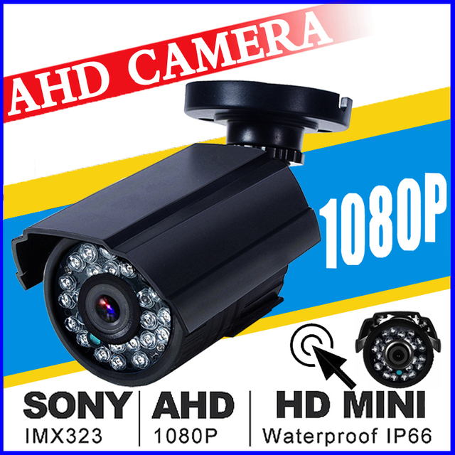 World Cup Sale HD AHD Mini CCTV Camera SONY IMX323 720P/960P/1080P 3000TVL Analog FULL 2MP IP66 Outdoor Infrared Bullet Vidicon