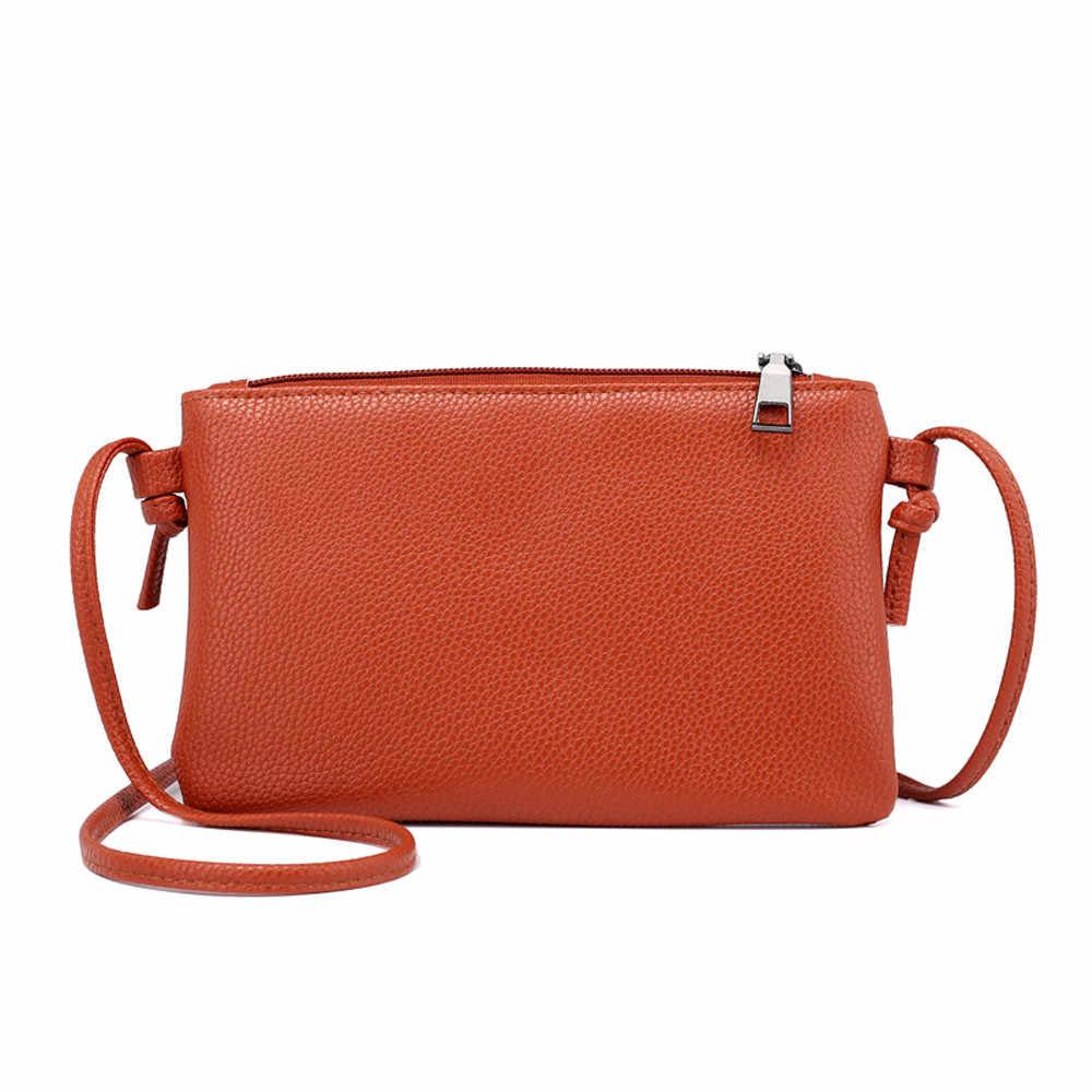 กระเป๋าสตรีหนัง Crossbody กวางขนาดเล็กไหล่กระเป๋า Messenger และเหรียญ sac หลัก femme sac a หลัก femme de marque soldes