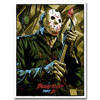 Friday The 13th Art Silk Poster Print 13x18 24x32 inch Jason Voorhees Classic Horror Movie Picture for Room Wall Decor 008