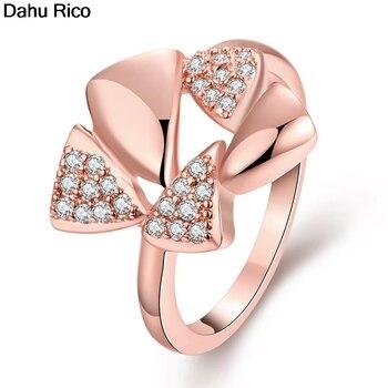 Anello, alianzas, mujer, zirconia, piedra blanca, marca de lujo, accesorios, regalos de...