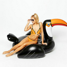176x133cm inflatable swimming pool toys bird swim ring pools adult kids baby toys large animal swimming pools