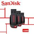 SanDisk CZ50 USB flash drive 128GB USB Pen Drives 32GB 64GB 8GB 16GB USB 2.0 memory stick PenDrive Support Official Verification