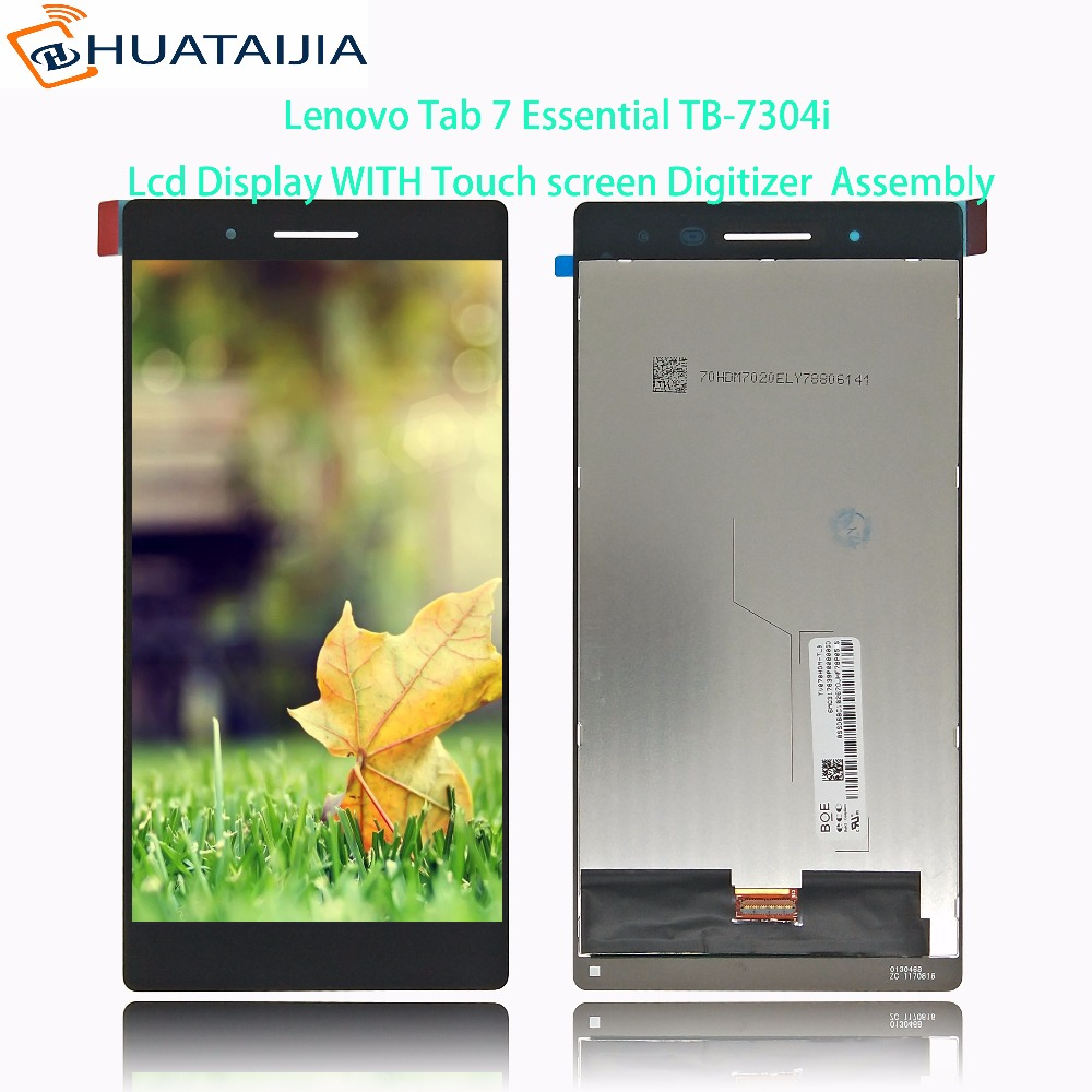 NEW 7 For Lenovo Tab 7 Essential TB-7304i LCD Tab 4 TB-7304i TB 7304I Display and Touch Screen Digitizer Assembly 10 1inch lcd with touch panel 1920x1200 for lenovo tab 4 tb x704l lcd display touch screen digitizer assembly