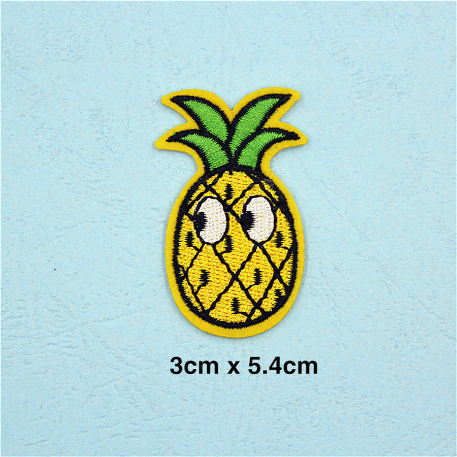 Pf Fine Stripe Fruit Patch Pineapple Embroidery For Clothing Bettina Heels Bellona Beige 39 Applique Accessories Tops Bag Iron On Patches Stickers Tb211 Us234