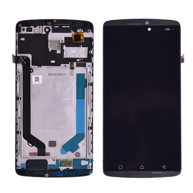 Original LCD Lenovo A7010 LCD Screen Display With Frame Touch Panel Digitizer Assembly Repalcement Parts Lenovo K4 Note LCD