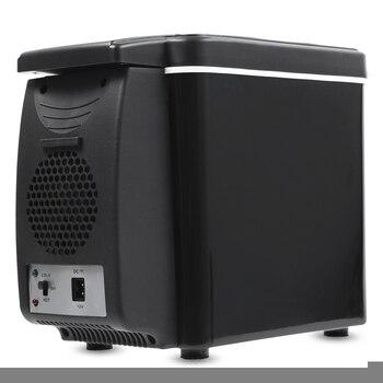 Бесплатная доставка 6L мини двойной Применение автомобиля холодной и горячей холодильник Multi-Функция Главная Путешествия автомобильный хол...