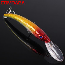 COMDABA 1PCS 15.5cm 16.5g Wobbler Fishing Lure Big  Crankbait Minnow Peche Bass Trolling Artificial Bait Pike Carp lures