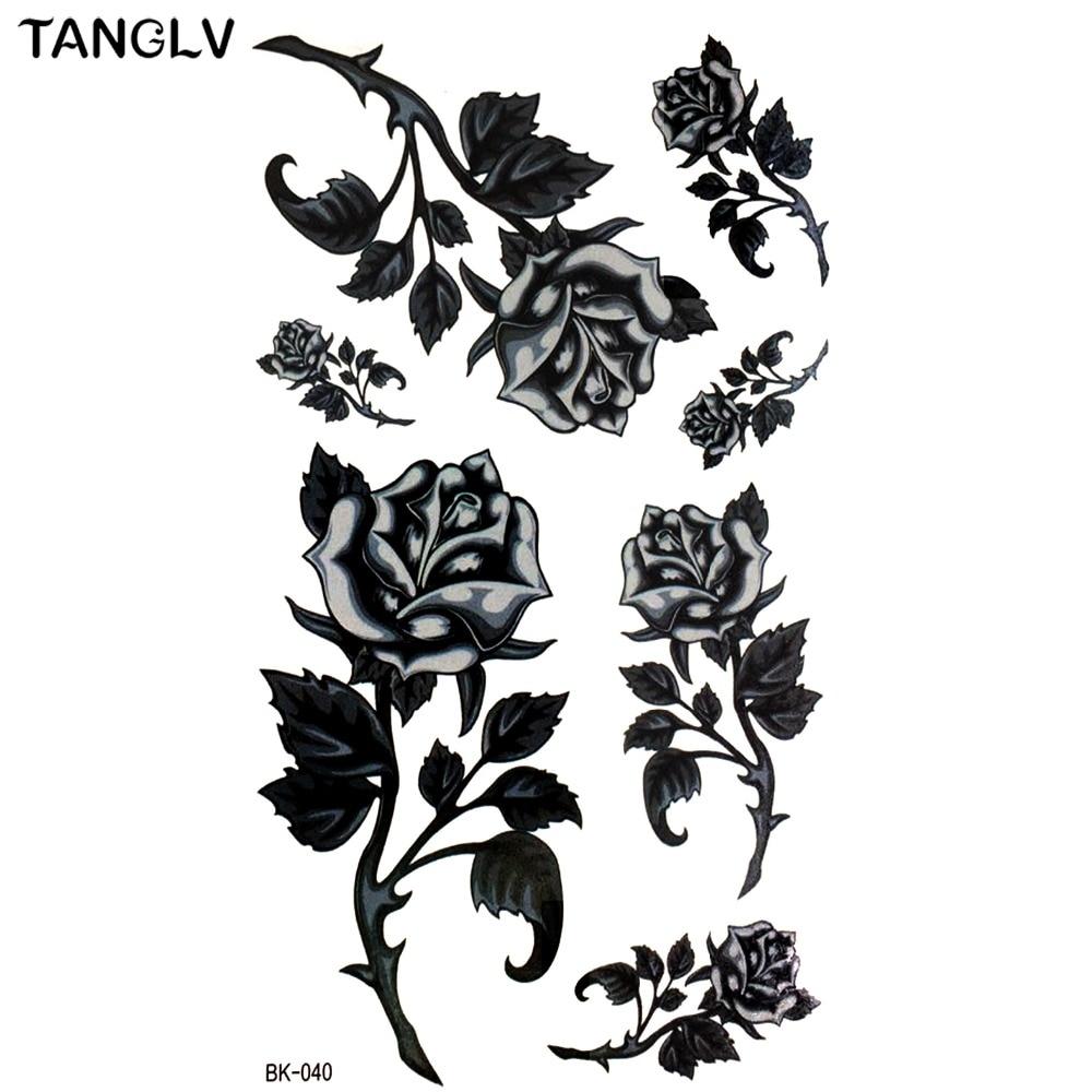 Dessin fleur noir et blanc galerie tatouage Fleur noir et blanc